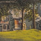 Hartford, Conn, CT Postcard - Mark Twain Memorial 1946 (A631)