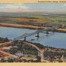 Natchez, Miss, MS Postcard - Natchez Vidalia Bridge (A679)