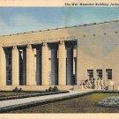 Jackson, Miss, MS Postcard - War Memorial 1942 (A674)