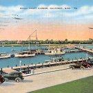 Gulfport, Miss, MS Postcard - Small Craft Harbor 1939 (A672)