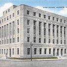 Jackson, Miss, MS Postcard - Post Office (A670)