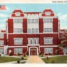 Hattiesburg, Miss, MS Postcard - High School (A658)