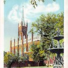 Natchez, Miss, MS Postcard - St. Mary's Cathedral (A649)