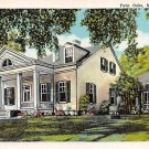 Natchez, Miss, MS Postcard - Twin Oaks (A646)