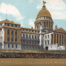 Jackson, Miss, MS Postcard - State Capitol Embossed (A641)