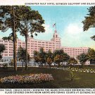 Biloxi, Miss, MS Postcard - Edgewater Gulf Hotel  (A637)