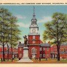 Philadelphia, PA Postcard - Independence Hall (A707) Penna, Pennsylvania