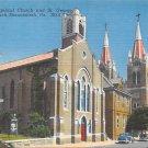 Shenandoah, PA Postcard - Churches (A711) Penna, Pennsylvania