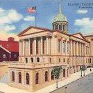 Lancaster, PA Postcard - County Court House (A716) Penna, Pennsylvania