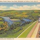 Wyalusing, Towanda, PA Postcard - Rt. 6 (A717) Penna, Pennsylvania