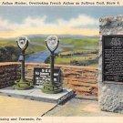 Wyalusing, Towanda, PA Postcard - Rt. 6 (A718) Penna, Pennsylvania