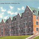 Bethlehem, PA Postcard Lehigh University (A728) Penna, Pennsylvania