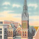 Allentown, PA Postcard Zion Reformed Church (A762) Penna, Pennsylvania