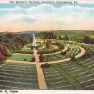 Gettysburg, PA Postcard - Soldiers' National Cemetery (A763) Penna, Pennsylvania