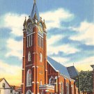 Williamsport, PA Postcard - St. Boniface Church (A774) Penna, Pennsylvania
