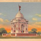 Gettysburg, PA Postcard - State Memorial (A777) Penna, Pennsylvania