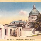 Annapolis, Md Naval Academy, Main Gate Postcard  (B292) Maryland