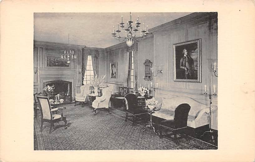 Lower Marlboro, Md Patuxent Manor Postcard (B295) Maryland