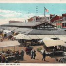 Baltmore, Md Lexington Market 1931 Postcard (B297) Maryland