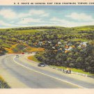 Cumberland, Md U.S. Route 40 Postcard (B299) Maryland