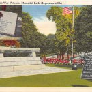 Hagerstown, Md United Spanish War Veterans Memorial Postcard (B308) Maryland