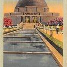 Chicago, Ill Postcard Adler Planetarium 1942 (B2) IL, Illinois