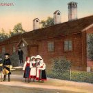 Skansen, Sweden, Sverige Postcard - Dollnasstugan (B318-319)