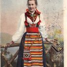 Dalarne Rattoik, Sweden, Sverige Postcard (B324-325)