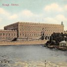 Stockholm, Sweden, Sverige Postcard - Kungl Slottet 1909 (B330-331)