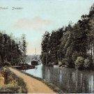 Gota Canal, Sweden, Sverige Postcard (B340-341)