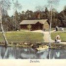 Skansen, Sweden, Sverige Postcard (B344-345)