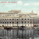 Stockholm, Sweden, Sverige Postcard -Riksbanken fran Vasabron (B346-347)