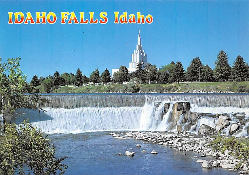 Idaho Falls, Idaho - Continental Postcard (B376)
