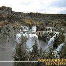 Shoshone Falls, Idaho - Continental Postcard (B365)