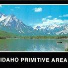 Stanley Lake, Sawtooth Mountains, Idaho - Continental Postcard (B363)
