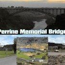 Perrine Memorial Bridge, Idaho - Continental Postcard (B362)