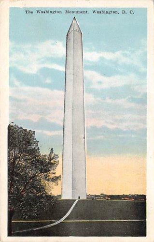 Washington, DC Washington Monument Postcard 1924 (B396)
