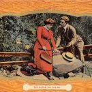 Tell me that you love me - Romance Postcard 1911 (B415)