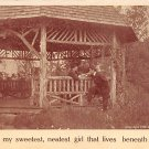 You are my sweetest - Romance Postcard (B416)