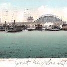Pennsylvania Railroad Depot Postcard 1909 (B433)