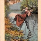 You are safe in my arms - Romance Postcard (B431)