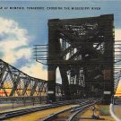 Memphis, Tenn Harahan Bridge Postcard (B446) Tennessee