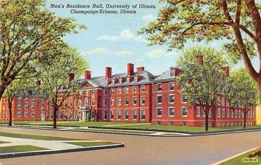Champaign Urbana, University Illionois Postcard (B447) IL