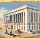 Nashville, Tenn Davidson County Court House Postcard (B448) Tennessee