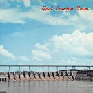 Fort Loudon Dam, Lenoir City Tennessee Postcard (B463)
