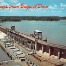 Bagnell Dam and Lake Of The Ozarks Postcard (B466)