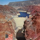 Hoover Dam. Outlet Tunnels Postcard (B471)