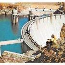 Hoover Dam on the Colorado River Postcard (B472)