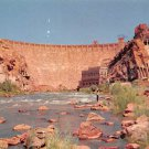 Roosevelt Dam, Salt River in Arizonia Postcard (B474)