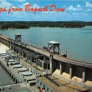 Bagnell Dam across Osage River Postcard (B475)
